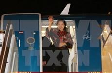 Exitosos viajes a India y EAU de líder parlamentaria vietnamita