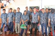 Indonesia repatría a pescadores vietnamitas