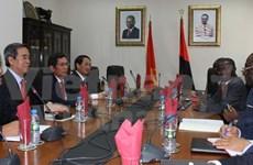 Encaminan Vietnam y Angola hacia robustecimiento de relaciones bilaterales