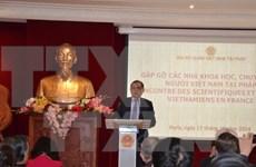 Encuentro de científicos de Vietnam residentes en Francia