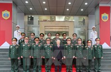 Líder partidista enfatiza papel especial de fuerza de Inteligencia de Defensa