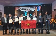 Vietnam logra encomiable resultado en Olimpiada de Astronomía en India