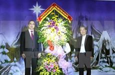 Líder del FPV felicita a comunidad católica con motivo de Navidad