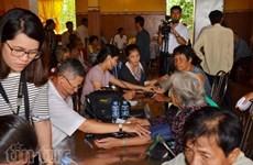 Doctores vietnamitas efectúan programa médico gratuito en Camboya