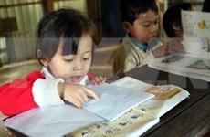 Especial maestro en isla vietnamita