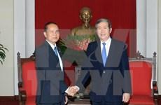 Partido Comunista de Vietnam atesora nexos con Camboya