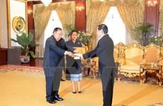 Entrega carta credencial embajador de Vietnam en Laos