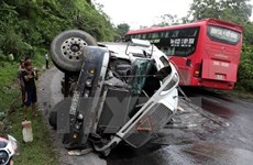 Aumentan accidentes del tránsito en Vietnam en el primer día de 2017