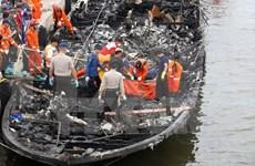 Indonesia: Problema mecánico puede provocar incendio en ferry
