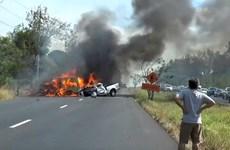 Más de 20 muertos en accidente de furgoneta en Tailandia