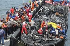 Indonesia: Arrestan a capitán de ferry tras incendio mortal