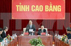 Premier vietnamita urge a Cao Bang a ser un modelo de reducción de pobreza