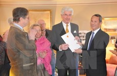 Barón De Grand Ry, otra vez designado Cónsul Honorario de Vietnam en Bélgica