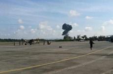 Fallece piloto militar en exhibición aérea en Tailandia