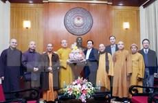 Sangha Budista de Vietnam contribuye al desarrollo nacional