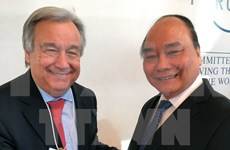 Continúa ocupada agenda de premier vietnamita en Davos