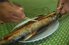Pescado asado del río Da