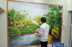 La primera aldea de pinturas murales en Vietnam