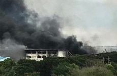 Más de 100 heridos por incendio de una fábrica en Filipinas