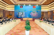 Medios de comunicación laosianos resaltan éxito de reunión intergubernamental Vietnam-Laos
