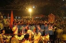 Ceremonia de Sello Real en provincia vietnamita atrae numerosos visitantes