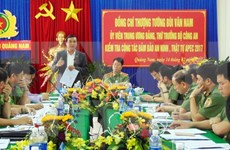 Quang Nam empeñada en garantizar seguridad para actividades de APEC