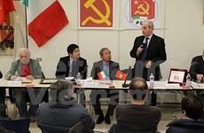Imparten seminario en Italia sobre revolución vietnamita