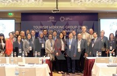 Altos funcionarios de APEC desarrollan sexta jornada de trabajo en Vietnam