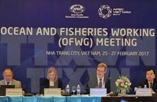 APEC busca desarrollar y explotar sosteniblemente recursos acuáticos