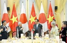 Vietnam organiza banquete estatal en honor del Emperador y la Emperatriz de Japón