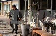 """Ejército tailandés y fuerzas rebeldes acordaron construir """"zona segura"""""""