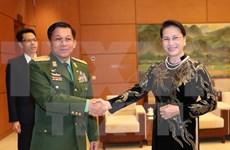 Titular del Parlamento propone asistencia para negocios vietnamitas en Myanmar