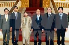 Premier vietnamita recibe a subsecretarios generales de Naciones Unidas
