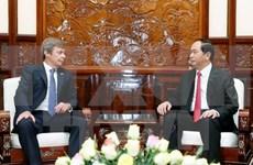 Presidente de Vietnam aspira a elevar intercambio comercial con Argentina