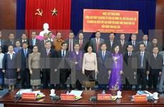 Presidenta del parlamento laosiano conoce experiencias vietnamitas en gestión de organismos electivos