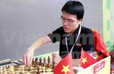 Le Quang Liem ocupa primer lugar en torneo de ajedrez HDBank