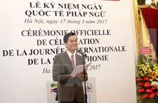 Vietnam se suma activamente a consolidar unidad entre miembros de comunidad francófona