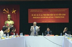 Actualizan en Vietnam situación y perspectivas de economía de Venezuela