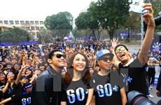Numerosas actividades en Hanoi en respuesta a la Hora del Planeta 2017