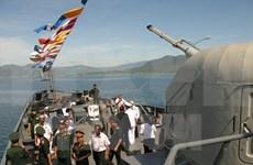 Armadas de Vietnam y Camboya realizan patrulla conjunta