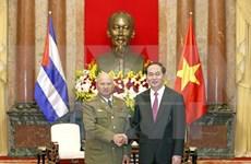 Vietnam está al lado de Cuba en cualquier situación, afirma presidente Dai Quang