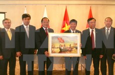 Obsequian en Japón colección de fotografías y películas sobre Vietnam