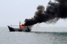 Indonesia hunde a barcos extranjeros por pesca ilegal
