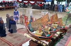 Celebran ritual dedicado a flotilla protectora de Hoang Sa