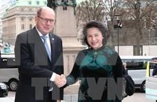 Vietnam y Suecia por robustecer cooperación parlamentaria