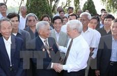 Rinden homenaje a exsecretario general del PCV en aniversario 110 de su natalicio