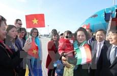 Presidenta de Asamblea Nacional de Vietnam inicia visita a Hungría