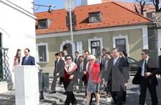 Presidenta del Parlamento vietnamita visita ciudad húngara de Szentendra