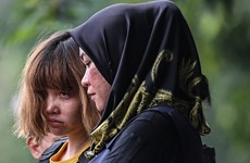 Vietnamita arrestada en Malasia se reúne con su padre