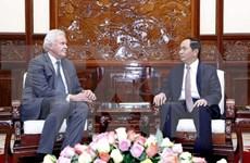 Presidente de Vietnam saluda plan de ampliación de inversión del grupo GE